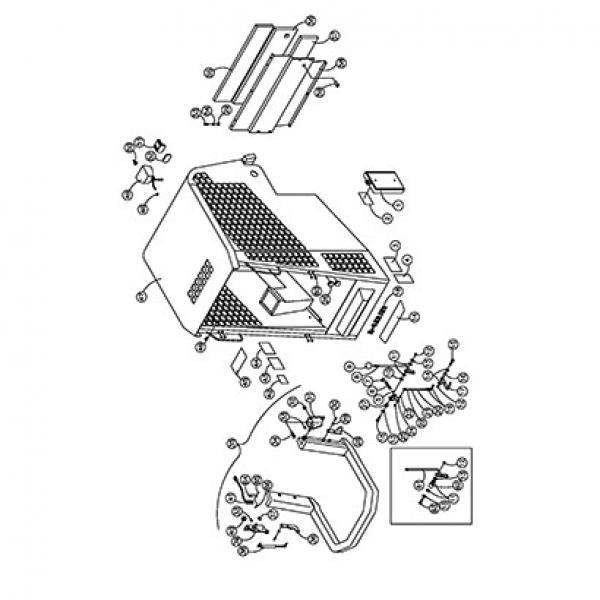 ASV RC80 Reman Hydraulic Final Drive Motor #1 image